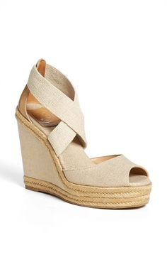 Tory Burch 'Natanya' Wedge Sandal (Online Only) available at #Nordstrom