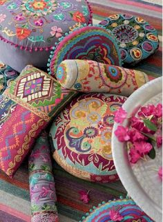 Bohemian Interior, Bohemian Decor, Bohemian Style, Boho Chic, Shabby Chic, Bohemian Pillows, Bohemian Patio, Moroccan Cushions, Boho Cushions