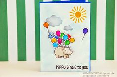 BLU-CREATIVE: HIPPO BIRDIE TO YOU