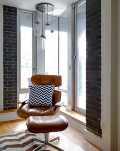Twin Designers Create A Beautiful Clinton Hill Home on the AphroChic blog.