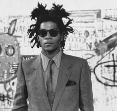 Jean-Michel Basquiat (Haiti 1960~1988 Brooklyn, NY... death by heroin overdose)