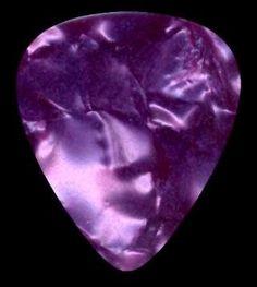 purple guitar pick - Google Search