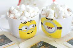 diy minion mugs