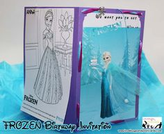 Disney's Frozen Birthday Invitation {with tons of free printables}