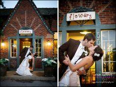 Goldner Walsh flower shop entrance - by Erin Werner Photography