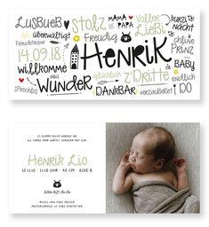 Geburtskarte Geburtsanzeige kartendings Onlineshop Baby Wunder, Facial Nerve, Nicotine Addiction, Foto Baby, Baby Names, Birth, Cards, Kids Bedroom, Babyshower