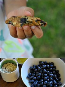 The Halls: Blueberry Oatmeal Cookies