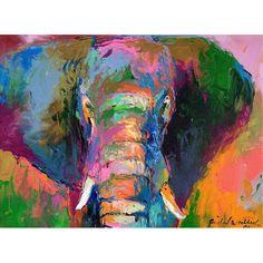 Elephant 2 Canvas Print