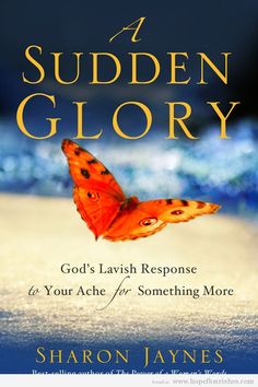 """Check out our interview with author Sharon Jaynes, and then come back next week to find out how to win a signed copy of her new book """"A Sudden Glory."""""""