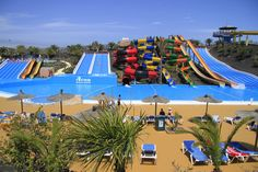Information about Acua Water Park in Corralejo, Fuerteventura, Canary Islands, Spain Places To Travel, Places To Visit, Big Pools, Relax, Summer Goals, Park Photos, Places Of Interest, Canary Islands, Holiday Destinations