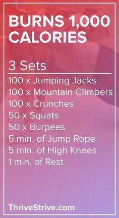 Want to burn 1,000 calories at home? This at-home #workout will help you burn 1,000 calories without the use of any gym equipment. Lose weight, burn calories, and watch TV.