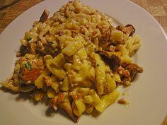 Chefkoch.de Rezept: Pfifferling - Spätzle Pfanne