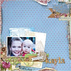 Layout designed by Christy Riopel featuring @bobunny Thank you so much to BoBunny for being one of our Great Canadian Scrapbook Carnival sponsors! @christyriopel @canadianscrapbookermagazine #bobunny #csmgcsc #christyriopel #canadianscrapbookermagazine
