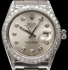 Rolex Datejust silver