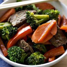 Beef & Broccoli Stir-Fry With Jasmine Rice