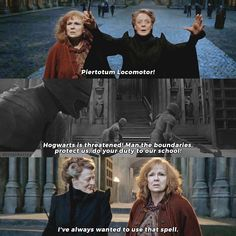 △⃒⃘ Professor McGonagall or Molly Weasley? 🦋