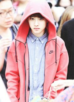 he looks like he just f*cked up Little Red Riding Hood and stole her clothes | D.O. x EXO