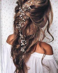 Wedding hair goals! RG: @ulyana.aster                                                                                                                                                                                 More