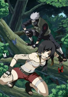 Kakashi - who the heck is the girl                                                                                                                                                                                 Más
