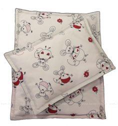 Nahřívací polštářek Myšky.  35x25cm.  Cena: 238,00 Kč