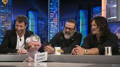 Jeffrey Dean Morgan y Norman Reedus, de The Walking Dead, en El Hormiguero