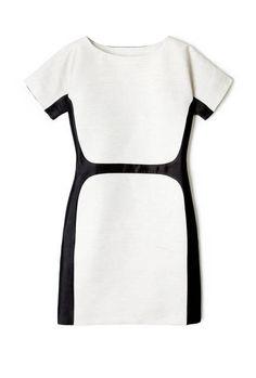 The Dress, Black, Color Block..so in!