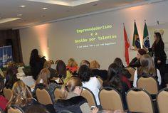 Evento BPW Londrina  Locação de iluminação, sonorização, projeção. Local: Hotel Boulevard