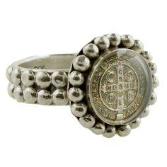 piccolo san benito magdalena ring - silver - $118
