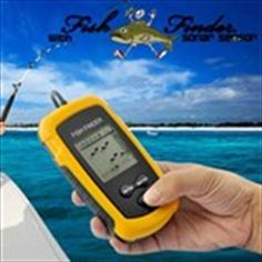 Easy To use Fish Finder - Fish Locator LCD Portable with Sonar Sensor With this Fish Finder Fish Locator LCD Portable that uses sonar technology, now you can see exactly on an LCD screen if there are any fish in the area! Did you ever spend h. Fish Finder, Fishing Accessories, Fish Camp, Sound Waves, Big Fish, Men Online, Cool Gadgets, Outdoor Activities, The Ordinary
