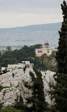 Areopagus - Hill Of Ares, Athens, Greece