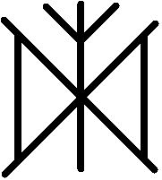 Norse Runes   Luck, Love, Protection, and Prosperity: Daeg, Eolh, and Gifu- Pinned by The Mystic's Emporium on Etsy
