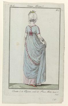 Journal des Dames et des Modes, Costume Parisien, 2 juin 1798, An 6, (41 (bis)): Cornette à la Paysane..., Anonymous, 1798