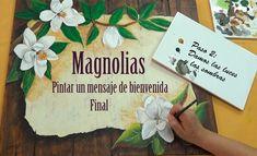 Pintar Magnolias. Painting Magnolias
