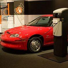 1996 General Motors EV1 Electric at The Petersen Automotive Museum Los Angeles, CA #Kids #Events