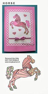 Irisvouwen: Horse