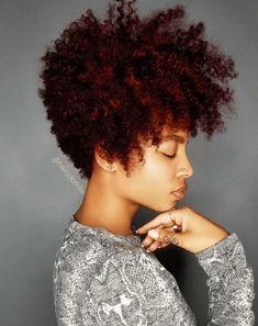 Natural Hair Cuts, Natural Hair Styles, Tapered Natural Hairstyles, Natural Tapered Cut, Thick Curly Hair, Curly Hair Styles, Blonde Color, Hair Color, Coiffure Hair