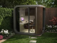 OfficePOD in giardino  - via designheaven.wordpress.com