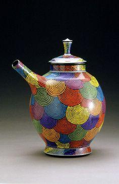 Teapot by Patrick Dougherty