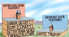 Haters Gonna Hate - A.F. Branco Cartoon - Conservative Daily News
