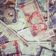 Pieniądze – banknoty – z naszych podróży