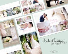 NIEUW! Bedankkaartjes met foto! www.lechiccards.nl/bedankkaartjes