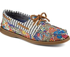 Sperry Top-Sider Authentic Original Liberty Print 2-Eye Boat Shoe