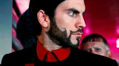 Seneca Crane in The Hunger Games Brand Archetypes, Beard Styles, Hunger Games, The Magicians, Sculpting, Eye Candy, Personality, Cinema, Fictional Characters