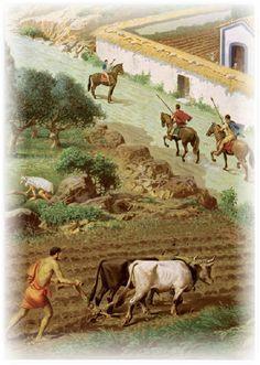 A FARM IN ANCIENT ROME