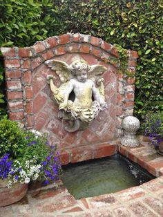 charming fountain