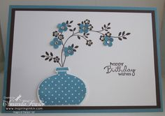 Stampin' Up! Delightful Decorations aren't just for Christmas anymore.