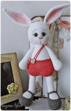Amigurumi Aşkına-Örgü Oyuncaklarım: Amigurumi Tavşan Pamuk-Amigurumi Rabbit #rabbit #amigurumi