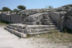 The Vema of Pnyx, the first podium of the ancient Athenian Democracy. (Walking Athens, Route 07 - Philopappos Hill) Athenian Democracy, Acropolis, Ancient Greece, Social Studies, Greek, Google Search, City, Pictures, Socialism