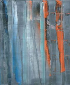 Gerhard Richter - I love how the restful blues and green are offset by the jarring orange.