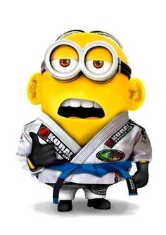 Grappler Minion...though with that level of cauliflower ear, should be a purple belt at least LOL.